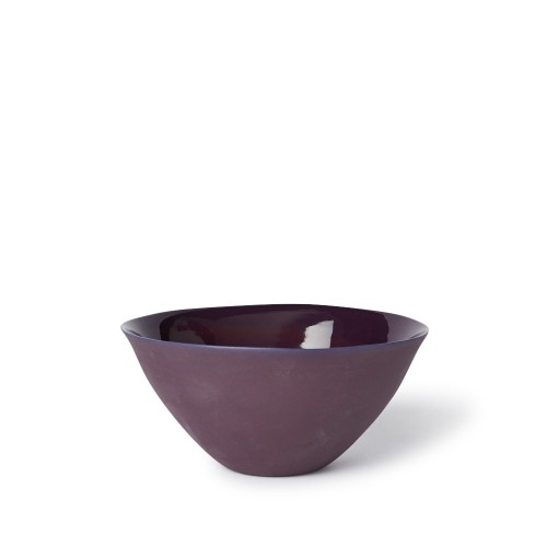 Medium Flared Bowl in Plum