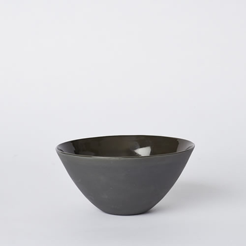 Medium Flared Bowl in Slate