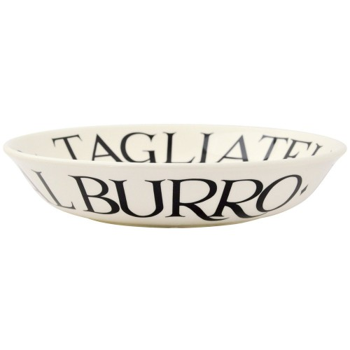 Black Toast Medium Pasta Bowl 23.5cm