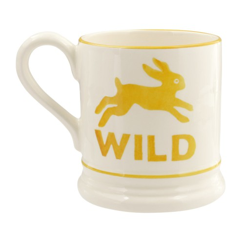 Wild rabbit 1/2 pint mug 285ml