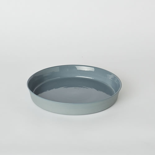Flan Dish in Steel