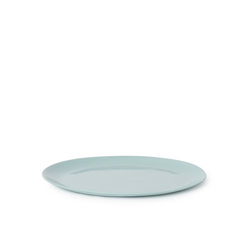 Flared Dinner Plate in Blue