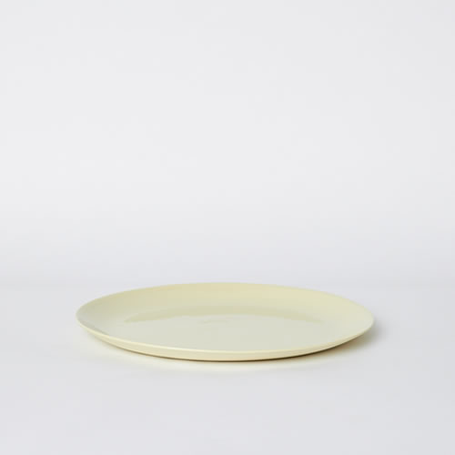 Flared Dinner Plate in Citrus