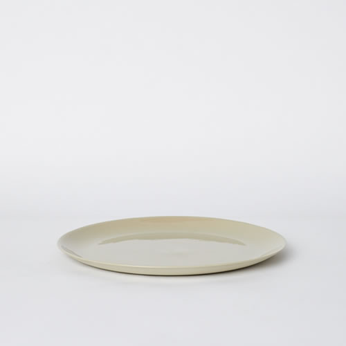 Flared Dinner Plate in Sand
