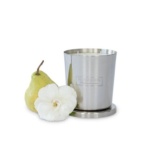 Candle Flowers & Pear 1kg