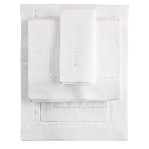 Felice Napkin 50x50 in White