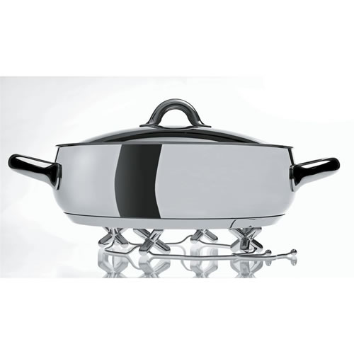 Tripod Trivet Chrome Plated