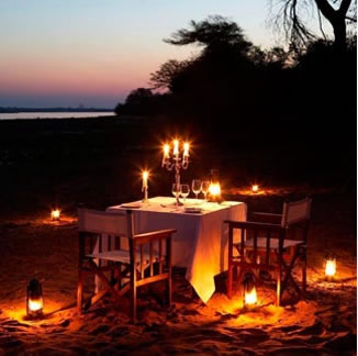 Honeymoon Wishing Well - Candle Lit Dinner