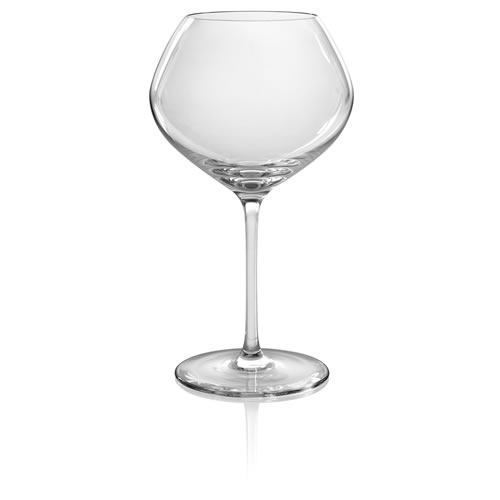 Vizio Red Vintage Wine Glasses