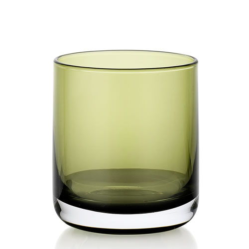 IVV Lounge Bar Green 380ml Whisky Glass