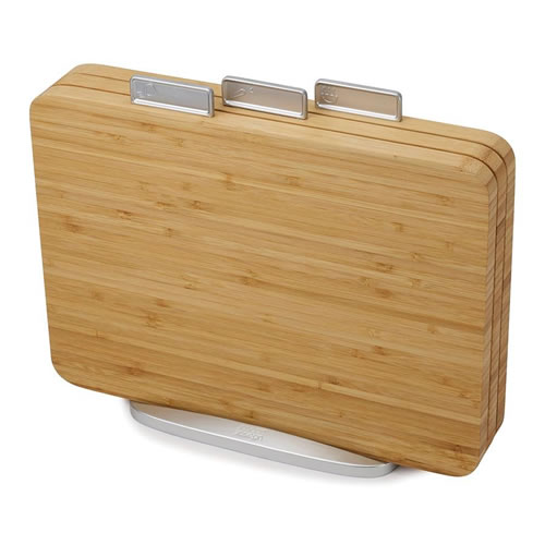 Index Chopping Board Set in Bamboo