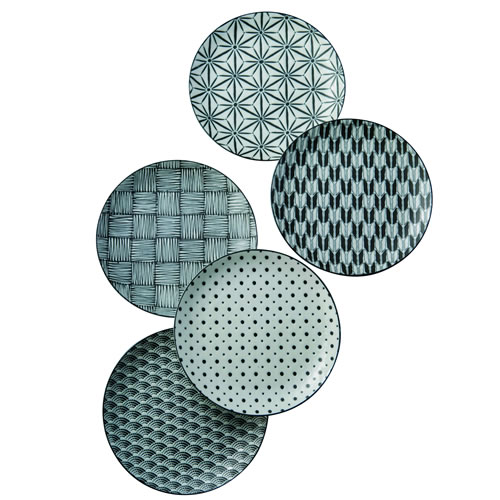 Komon Pasta Plate Set