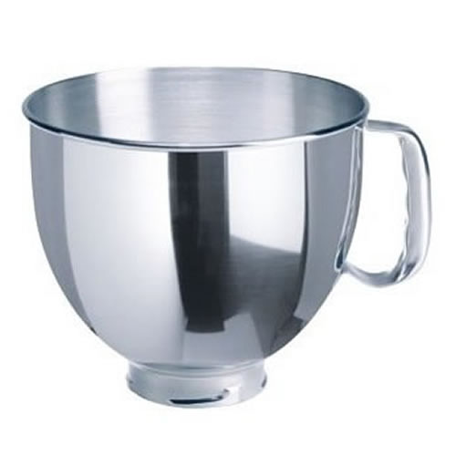 Stainless Steel Mixing Bowl 4.8L with Handle to fit KSM150