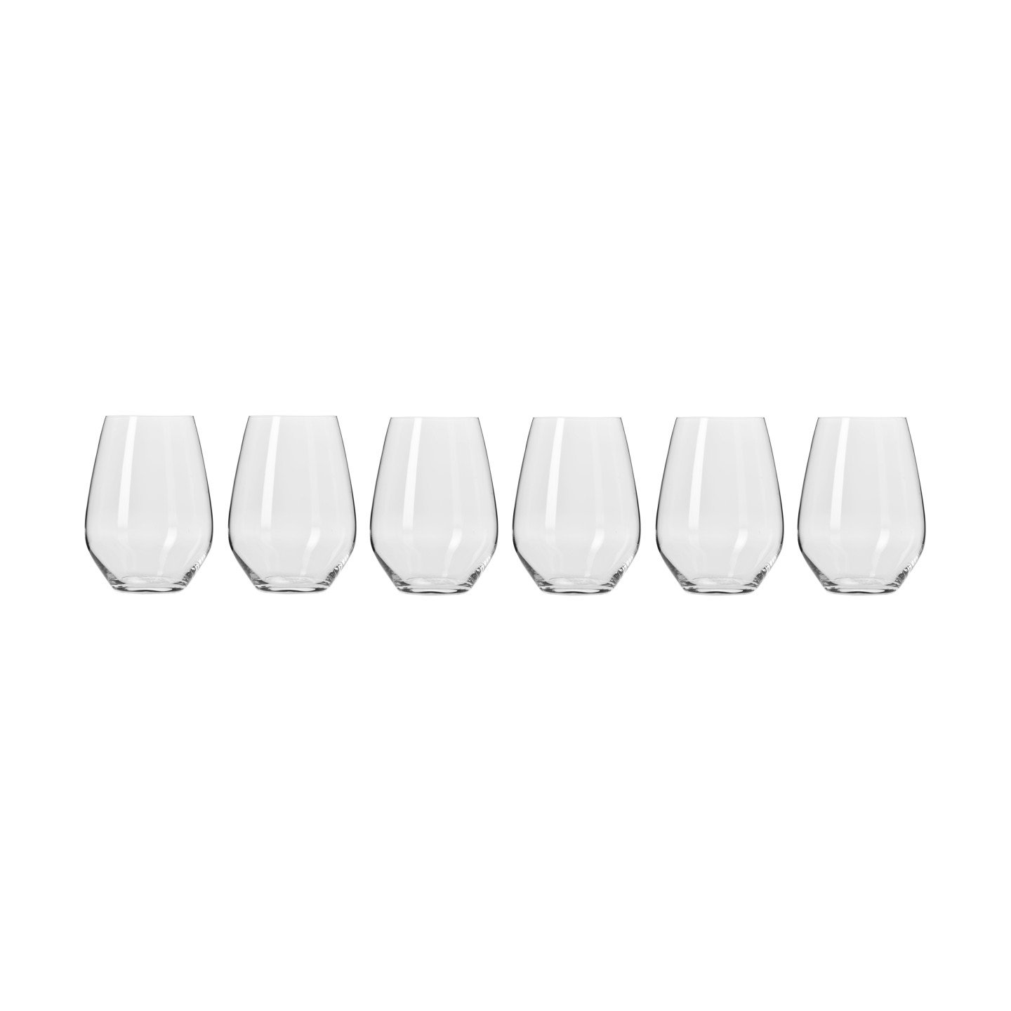 Harmony Steamless Wine Glasses 540ML Set of 6