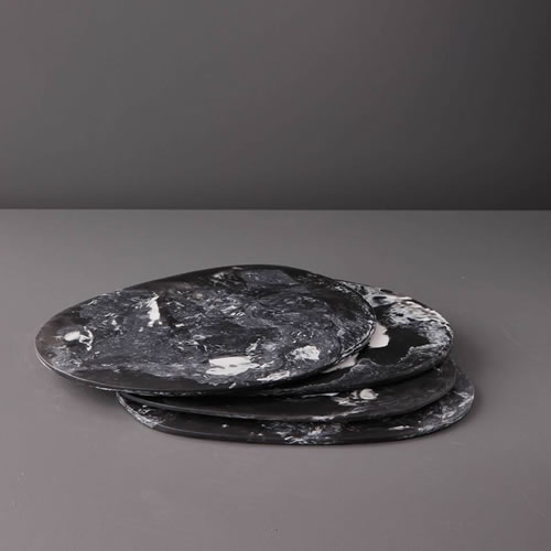 Resin Boards in Black Marble
