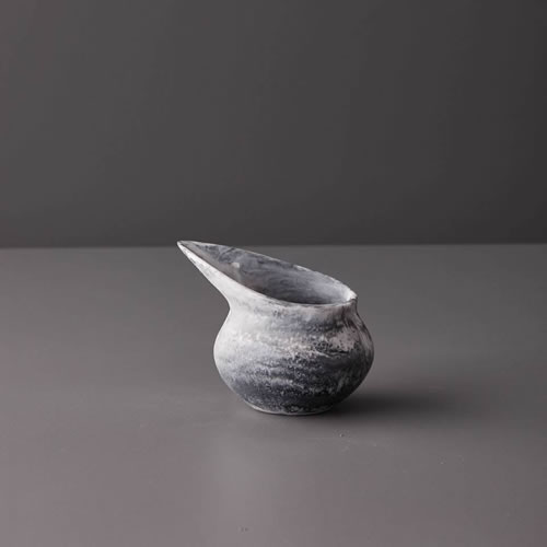 Resin Small Jug in Grey Marble