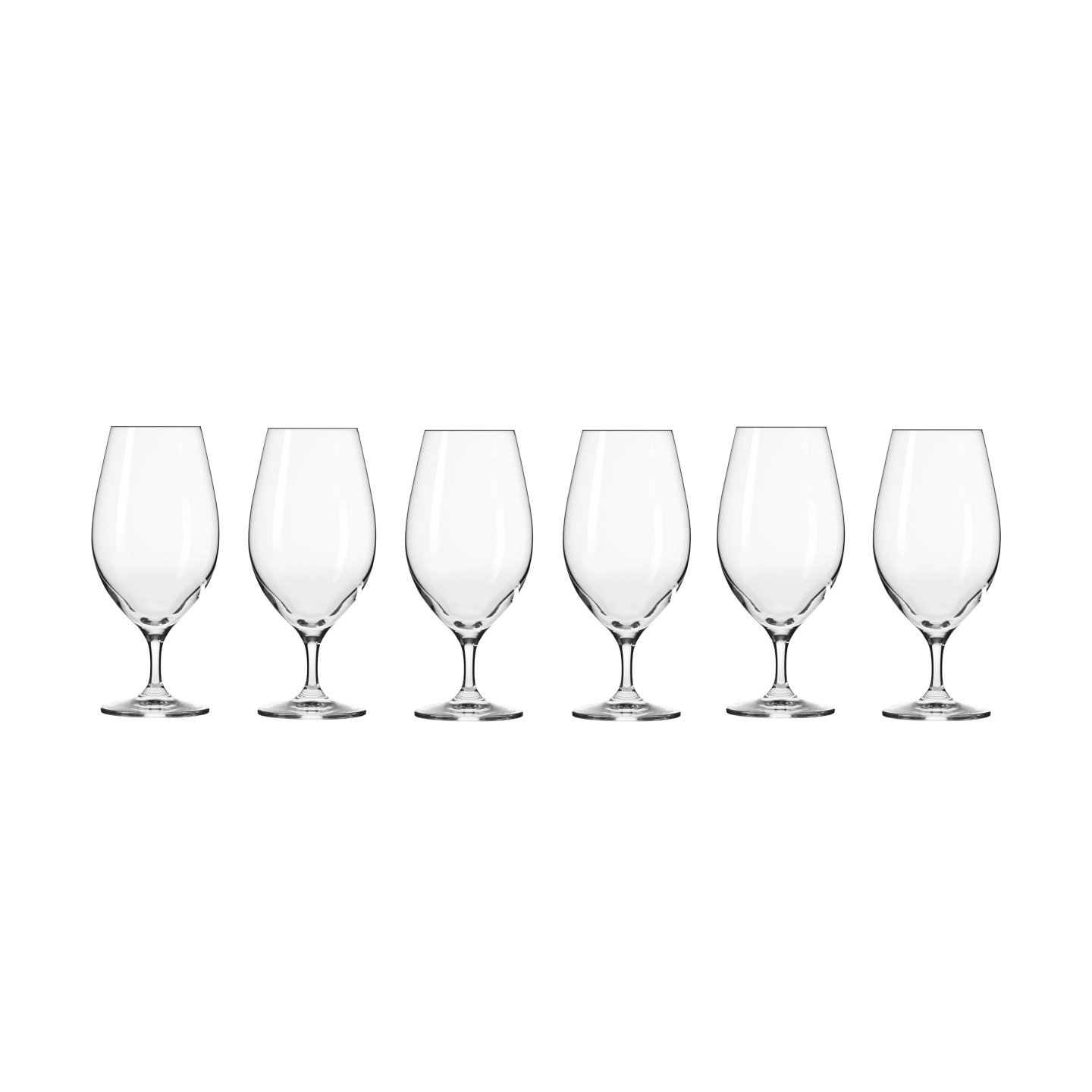 Harmony Beer Glasses Set of Six