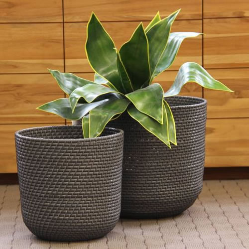 Shoreham Set of 2 round baskets