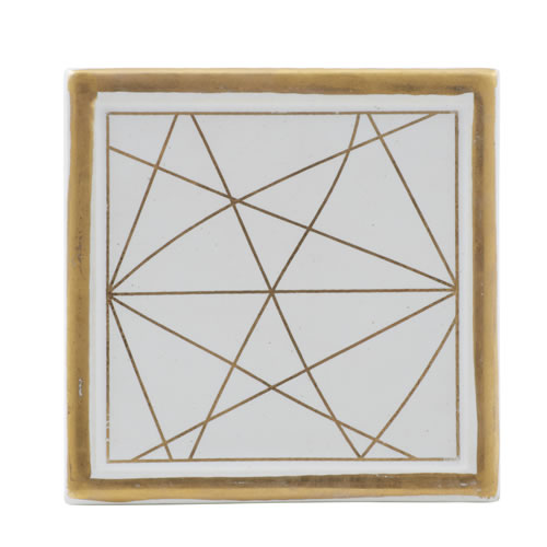 Linear Ceramic Coaster Set