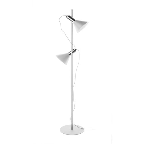 Odette Floor Lamp in White