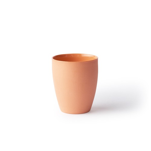 Latte Cup in Orange