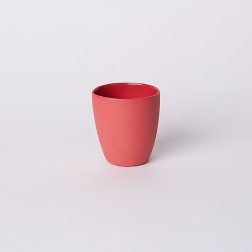 Latte Cup in Red