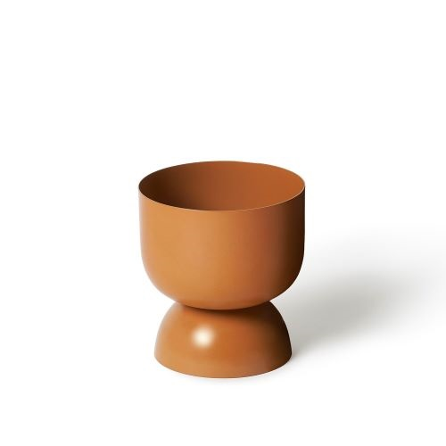 Goblet Planter in Nutmeg