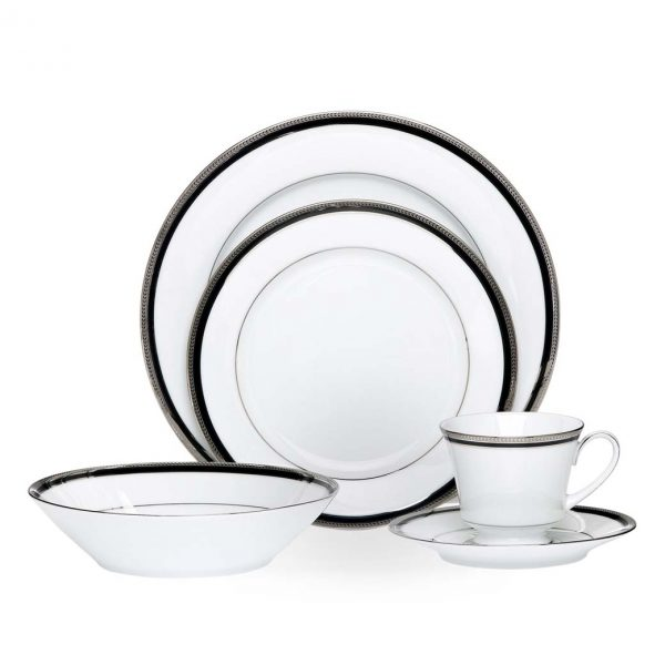 Toorak Noir 20 Piece Dinner Set