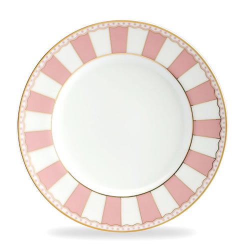 Carnivale Cake Plate Set in Pink