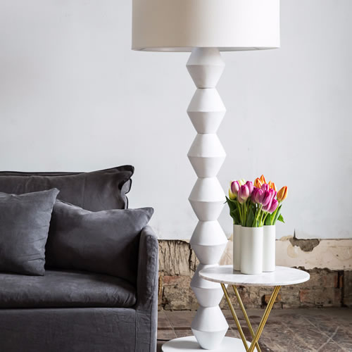 Fog Trio Iron Pale Grey Vase
