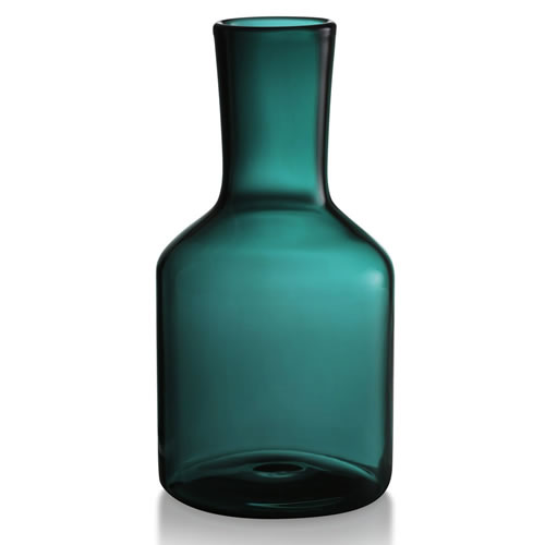 Carafe and Matching Goblet Set in Teal