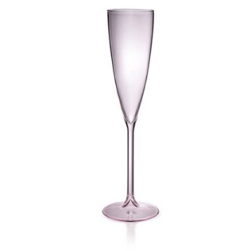 Champagne Flutes in Pink