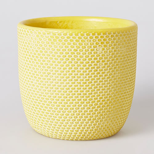 Tweed Pot in Citrus