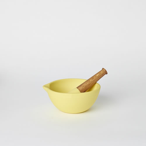 Mortar & Pestle in Yellow