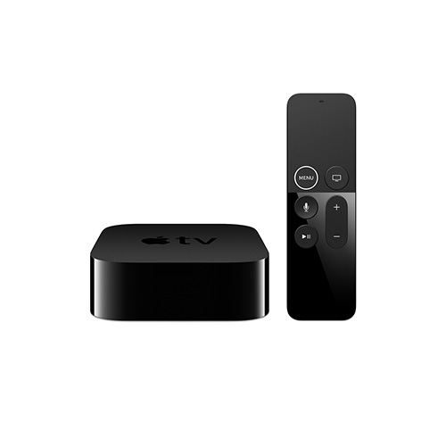 Apple - TV 64GB 4K Media Player - Black