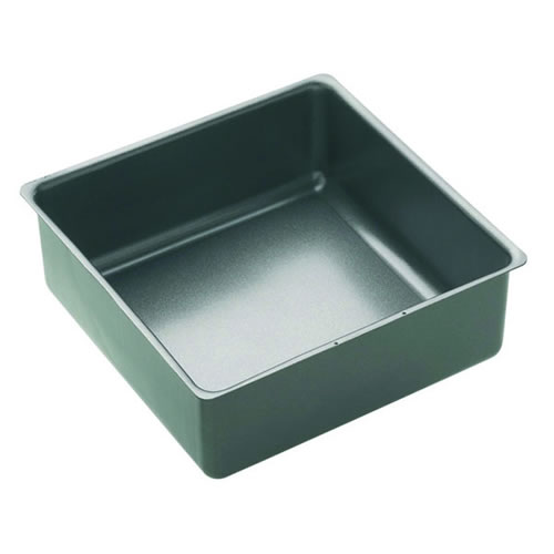 Non Stick Loose Base Square Deep Cake