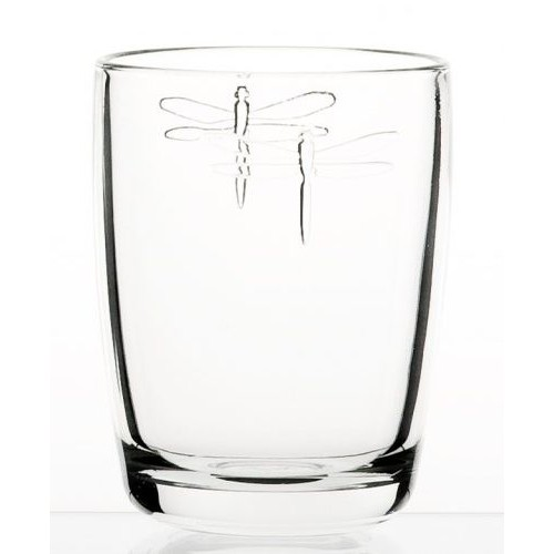 Dragonfly Clear Long Tumbler