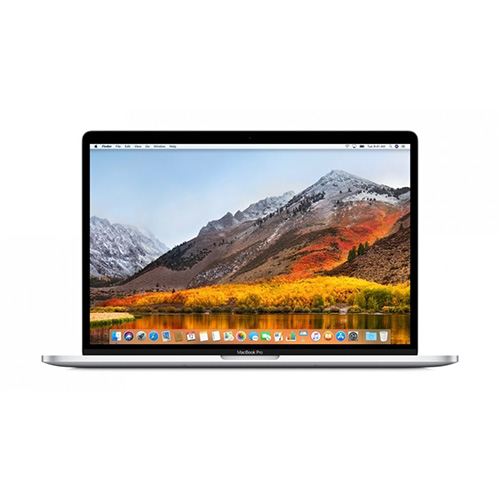 Apple - 15in 512GB MacBook Pro 2.6GHz 6-Core 8th-Gen i7 Laptop with Touch Bar - Silver