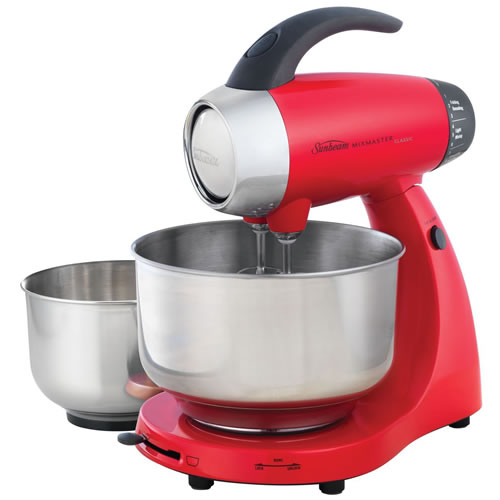 Sunbeam Mixmaster Classic 4.2 Litre Electric Mixer Red