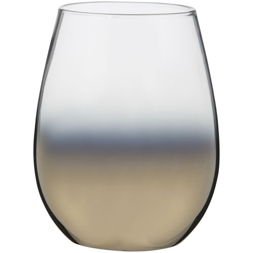 Cariso Gold Stemless Glasses