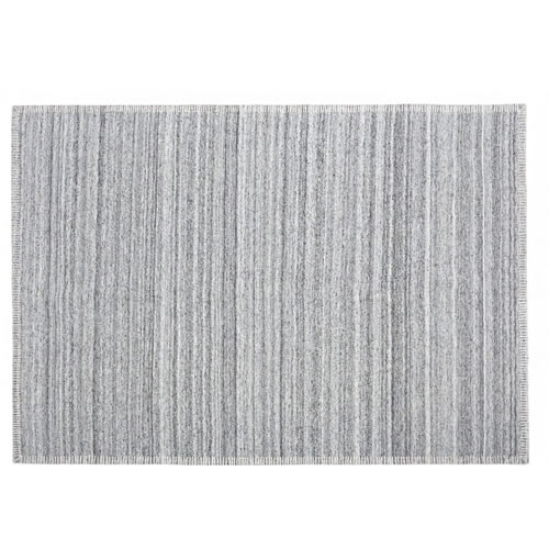 Nevada Grey Wool Rug 160x230cm