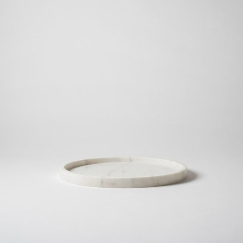 Round Marble Tray