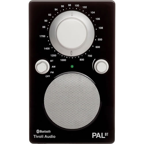 Tivoli Audio PAL BT Portable Radio in Black