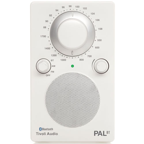 Tivoli Audio FM AM PAL BT Radio with Bluetooth White