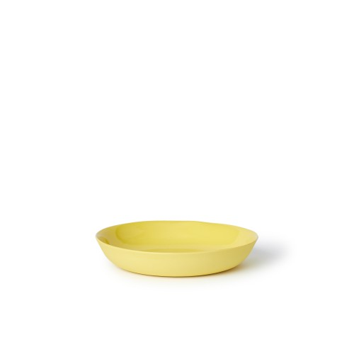 Pebble Bowl Cereal in Yellow