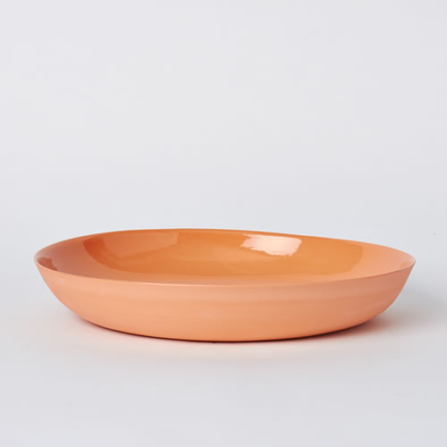 Pebble Bowl Large in Orange