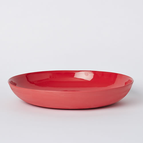 Pebble Bowl Large in Red