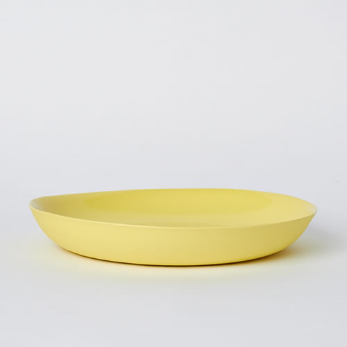 Pebble Bowl Large in Yellow