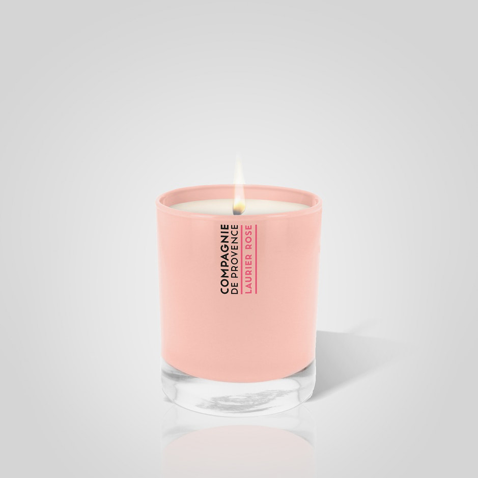 Bastide Scented Candle Rose Bay 260gr 8.6x15.2cmh