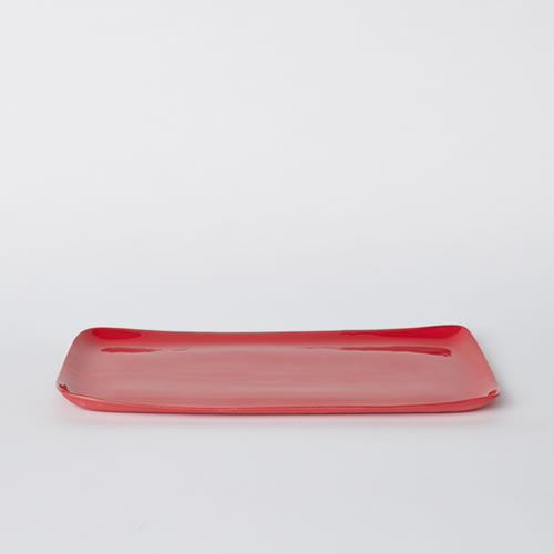 Platter in Red